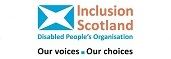 I'm proud to support Inclusion Scotland
