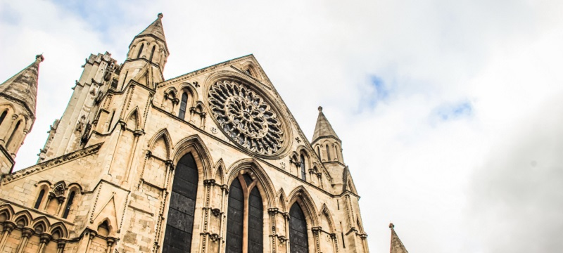 Photo of York Minster.