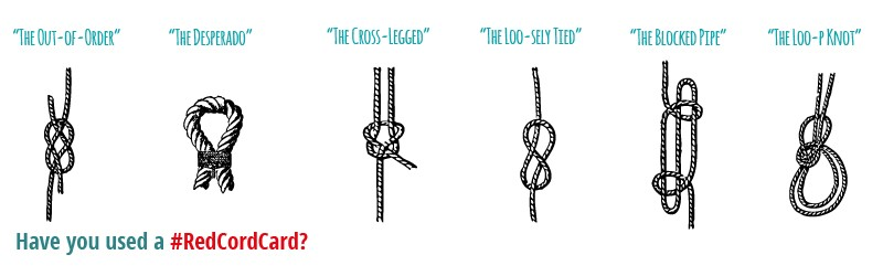Graphic of knotted ropes.