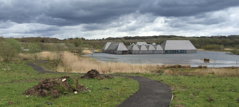 Photo of Brockholes Nature Reserve.