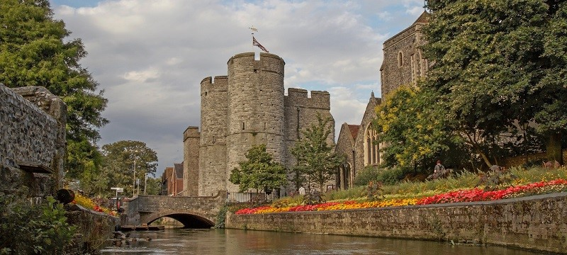 Photo of West Gate in Canterbury.