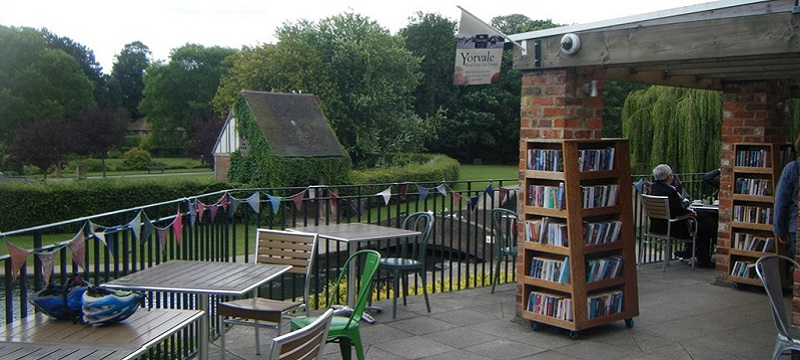 Photo of Rowntree Park Reading Cafe.