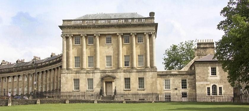 Photo of No. 1 Royal Crescent.