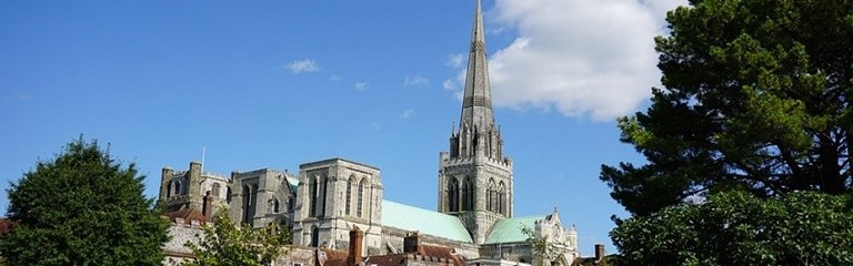 Photo of cathedrals in Chichester.