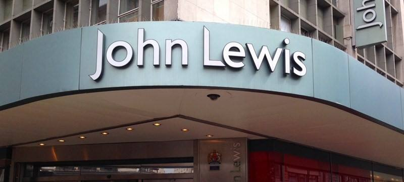A picture of the front of John Lewis.