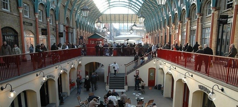 A picture of Covent Garden.