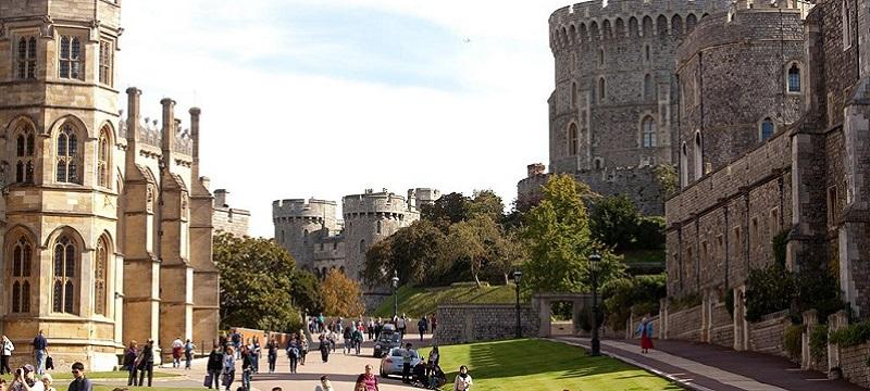 Photo of Windsor Castle.