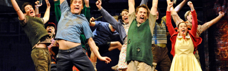 Photo from the production of Blood Brothers.