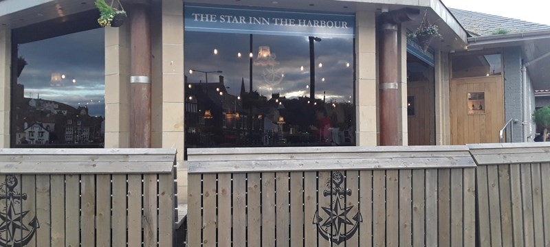 photo of The Star Inn the Harbour.