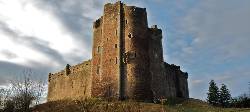 Photo of Doune Castle.