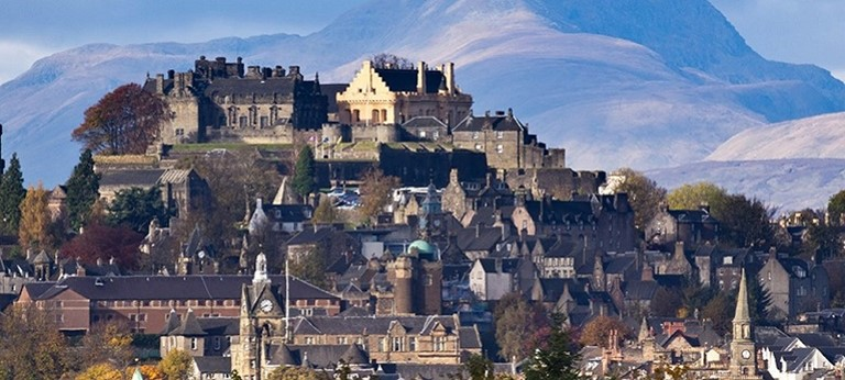 A photo of Stirling Castle.