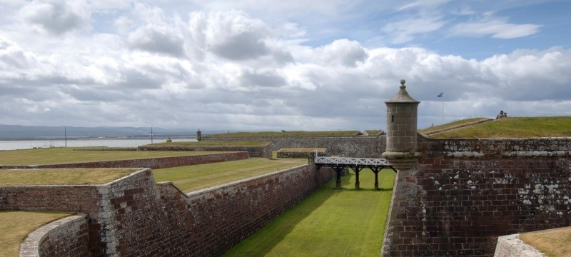 Photo: Fort George.