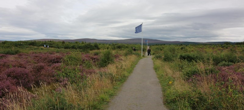 Photo: Culloden Battlefield and Visitor Centre.