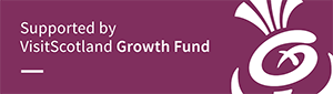 Logo - supported by VisitScotland Growth Fund