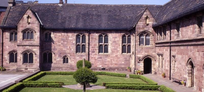 Photo of Chetham's Library.