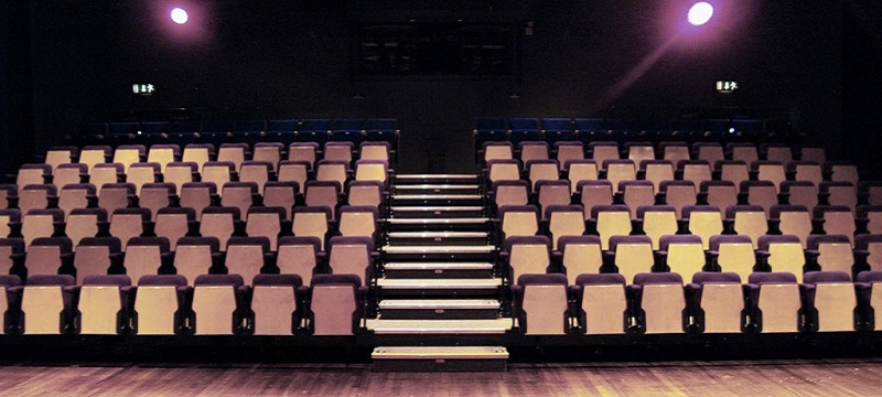 Photo of seats at Civic Theatre.