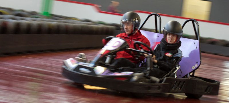 Photo of a go-kart at The Experience.