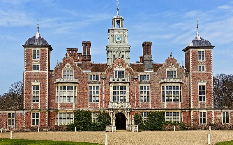 Photo of the house at Blickling Estate.