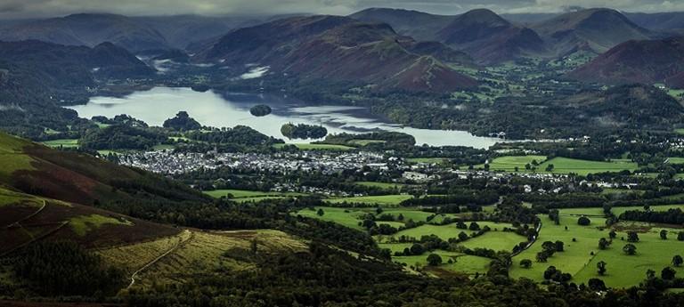Photo of Cumbria landscape.