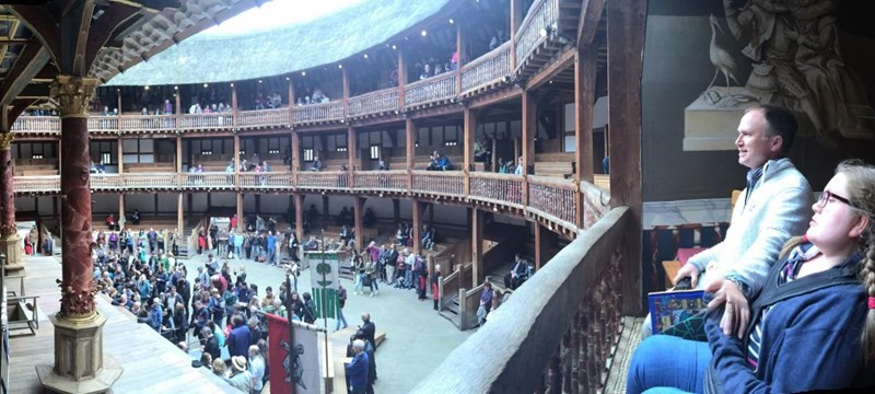 Photo of Shakespeare's Globe.