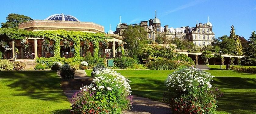 Photo of gardens in Harrogate.