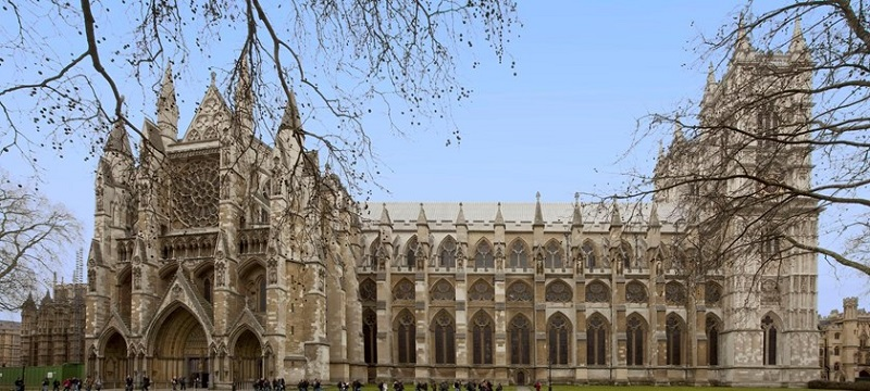 Photo of Westminster Abbey.