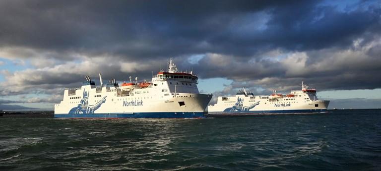 Photo of MV Hjaltland.