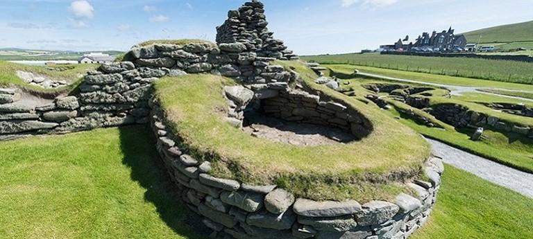 Photo of Jarlshof Prehistoric and Norse Settlement.