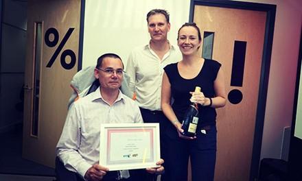 People's Choice Award, BT Infinity Lab 2014