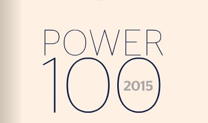 The Power 100 List 2015