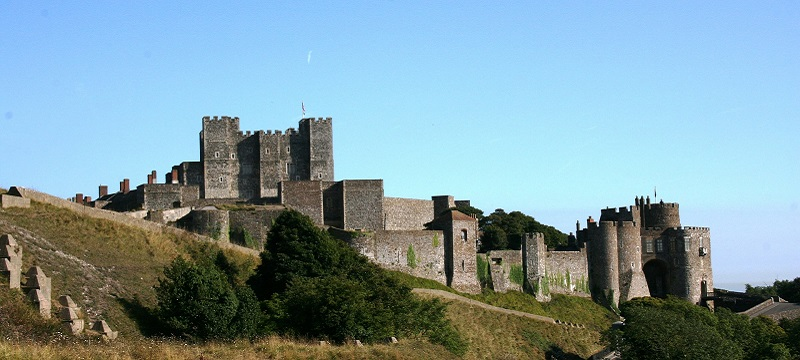 Photo of Dover Castle.