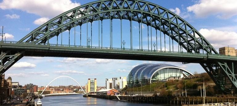Photo of Newcastle Upon Tyne Bridge.