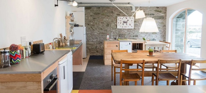 Photo of the kitchen in Burnieston Farm and Steading.