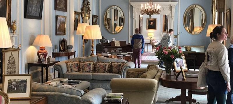 Photo of Hillsborough Castle interior.