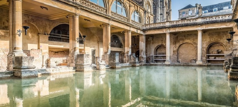 Photo of the Roman Baths.