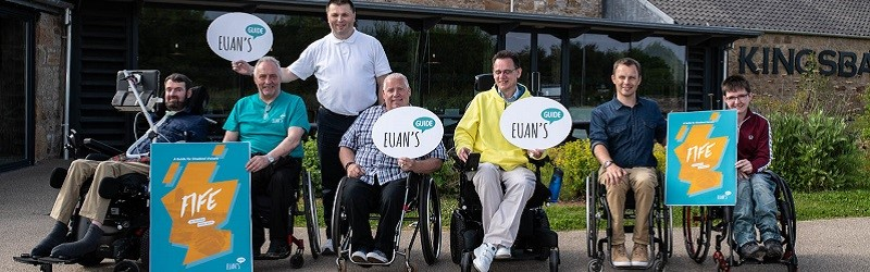 Photo of Euan's Guide Ambassadors in Fife.