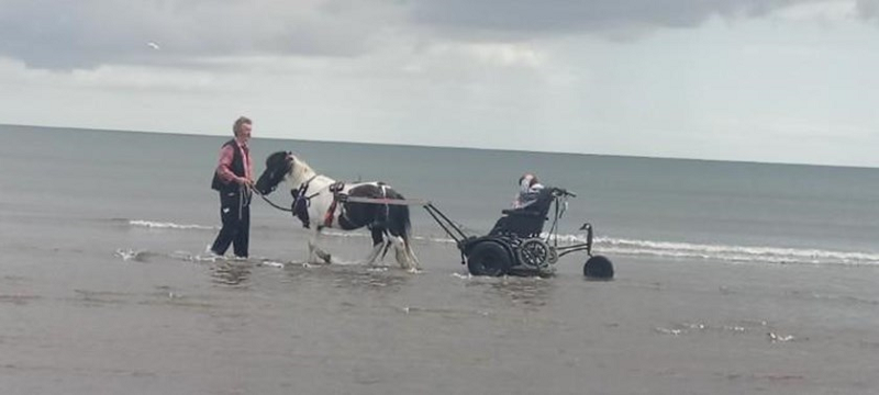 Photo of Pony Axe S at West Sands Beach.