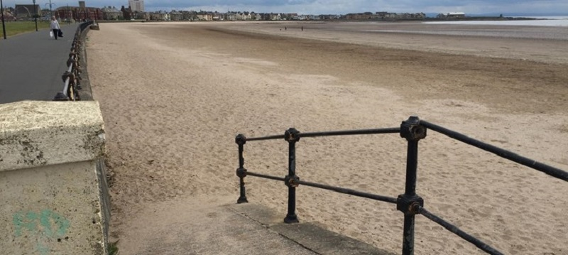 Photo of Ardrossan Beach.