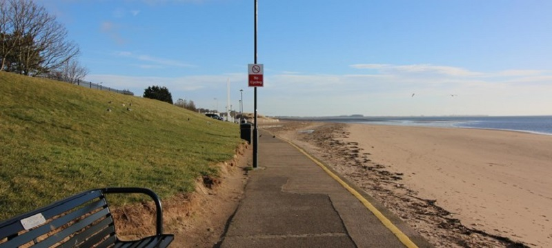 Photo of Broughty Ferry Beach.