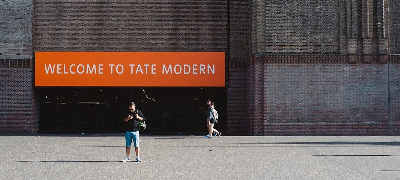 Photo of Tate Modern.