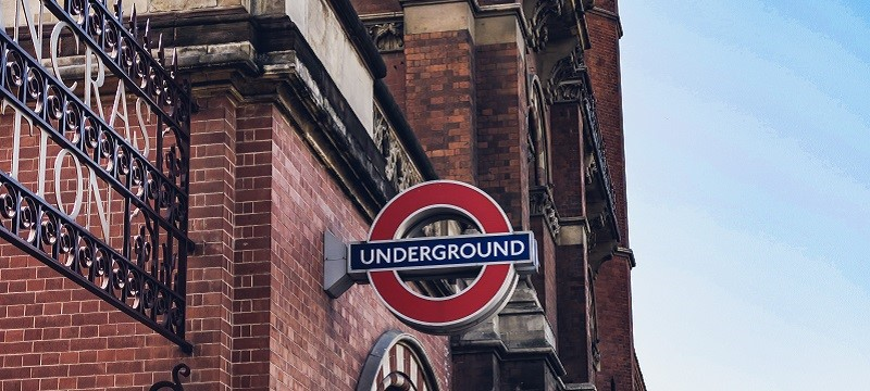 Photo of the London Underground.