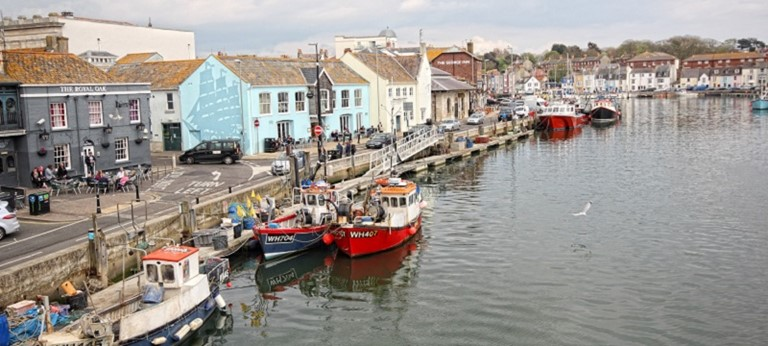 Photo of Weymouth Harbour.
