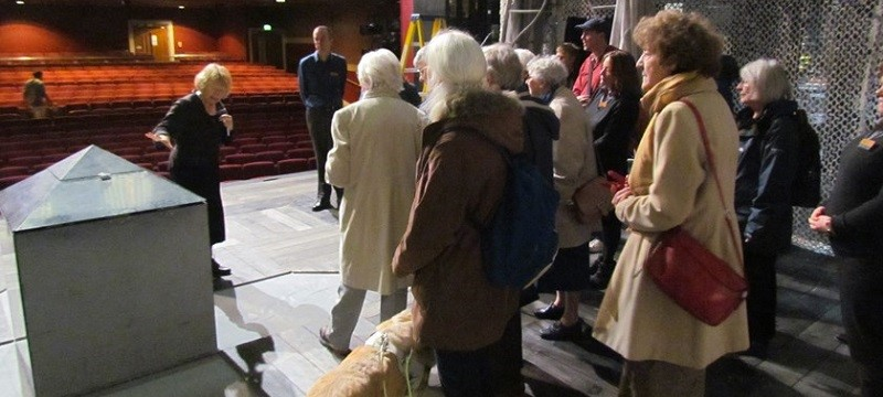 Photo of a tour at Norwich Theatre Royal.