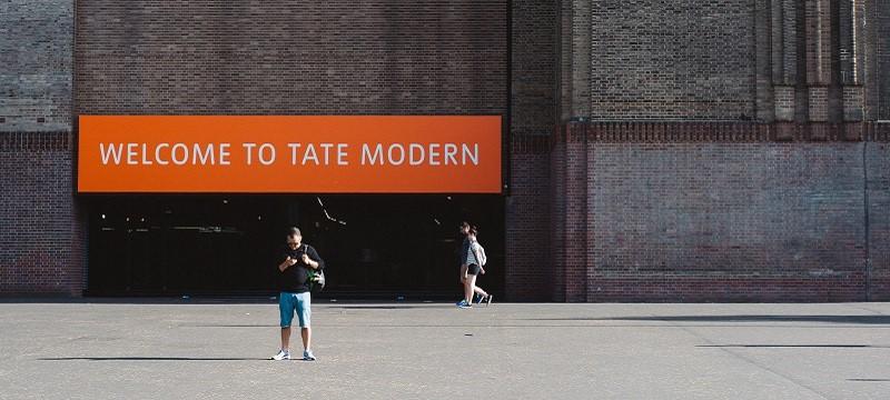 Photo of Tate Modern.