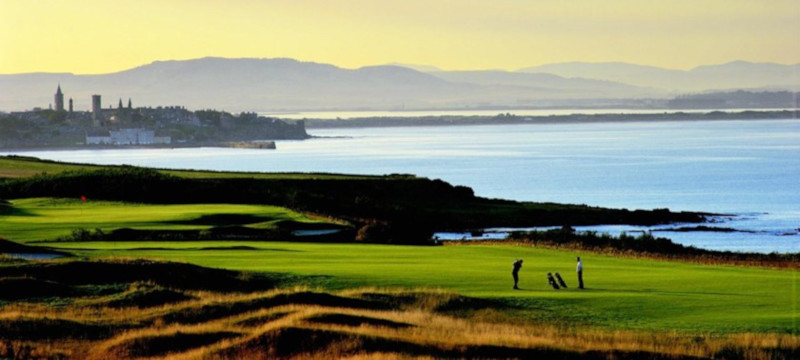 Photo of the Fairmont Hotel golf course.