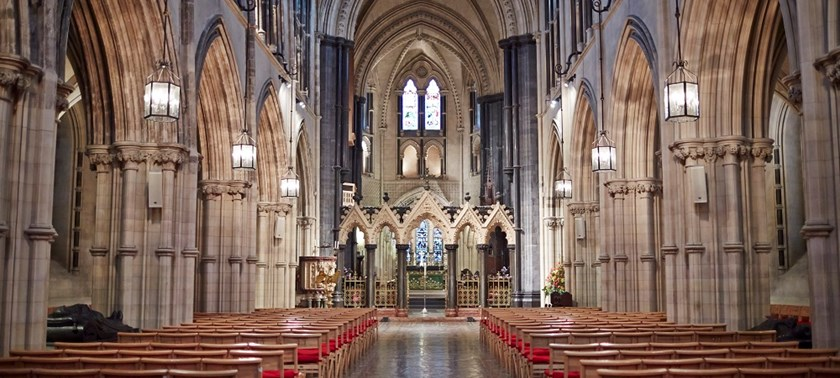 Photo of Christ Church Cathedral, Dublin.