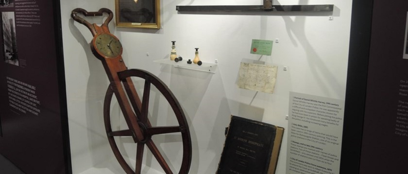 Photo of The City of London Police Museum.