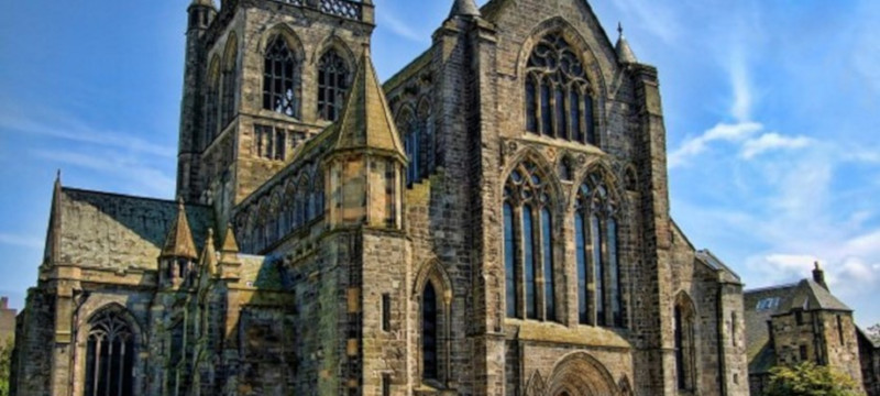 Photo of Paisley Abbey.