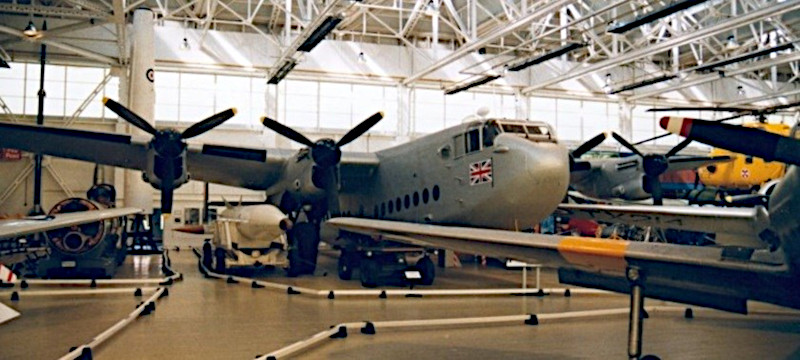 Photo of an Avro York at Yorkshire Air Museum.