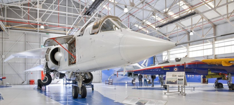 Photo of aircraft on display at RAF Museum Cosford.